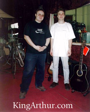 Aiax and Denis in a Russian Recording Studio